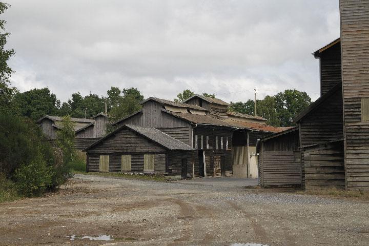La mine de La Lucette, Mayenne, Fr